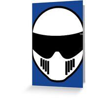 The Stig - Stig's Head Greeting Card