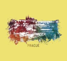 Prague skyline  Kids Clothes