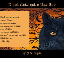 """Black Cats get a Bad Rap - """"The Wind Blows"""" by J.G. Piper"""