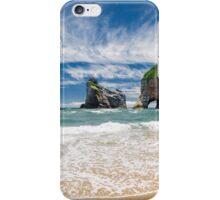 NEW ZEALAND:THE SECRET BEACH iPhone Case/Skin