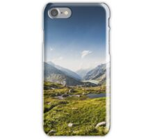 SWISS ALPS:THE HIGH ROAD iPhone Case/Skin