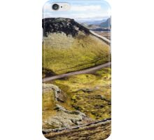 ICELAND:PANORAMA WITH VOLCANO iPhone Case/Skin