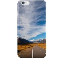 NEW ZEALAND:ROAD TO MT.COOK iPhone Case/Skin