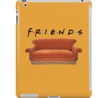 Friends couch iPad Case/Skin