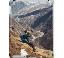 NEPAL:THE PHOTOGRAPHER iPad Case/Skin