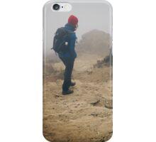 NEPAL:TRAVELLER IN THE FOG iPhone Case/Skin