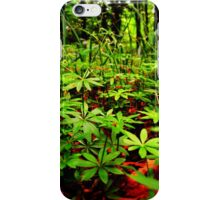 Natural flooring iPhone Case/Skin