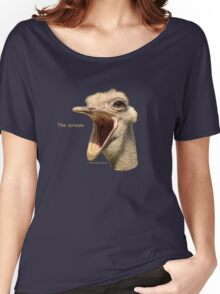 The scream Women's Relaxed Fit T-Shirt