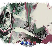 Tokyo Ghoul - Uta (Ed Card) With Logo by Onimihawk