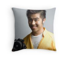 Me, Advertising for Nikon Throw Pillow