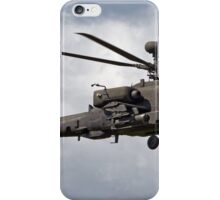 British Army Air Corps AugustaWestland WAH-64D AH.1 Helicopter iPhone Case/Skin