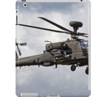 British Army Air Corps AugustaWestland WAH-64D AH.1 Helicopter iPad Case/Skin