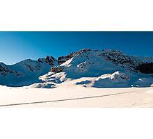 Panoramic scenery at Melchseefrut  Photographic Print