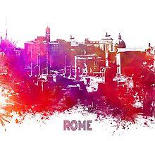 Rome skyline by JBJart
