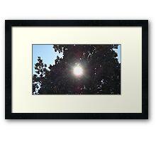 Blue Skies 002 Framed Print