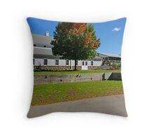 Fairgrounds in Rhinebeck,NY Throw Pillow