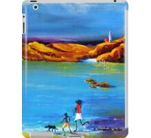 Fun Day Acrylic painting iPad Case/Skin