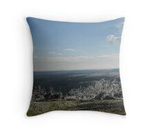icy wonderland 2 Throw Pillow