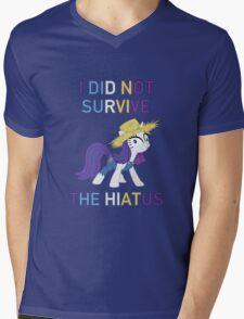 I Did Not Survive The Hiatus - MLP FiM - Brony Mens V-Neck T-Shirt