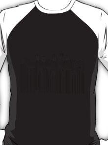 zebra barcode T-Shirt