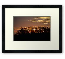 Sunrise Seven Springs II Framed Print