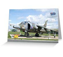 Harrier GR3  Greeting Card