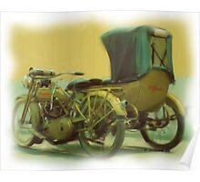 1918 Harley Poster