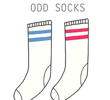 Happy mothers day - without you i'd have odd socks by PIXELATED DINOSAUR ILLUSTRATIONS