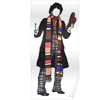 4th Doctor. Poster