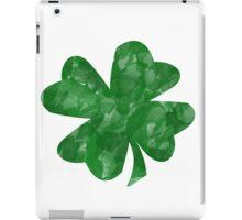 Watercolor Shamrock iPad Case/Skin