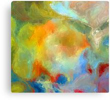 From The Painting Easel #9 Canvas Print