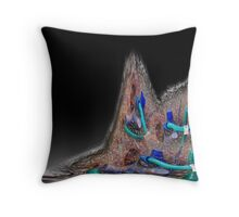 wired landscape Throw Pillow