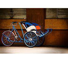Saigon Cyclo Photographic Print