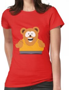 Snacky Womens Fitted T-Shirt
