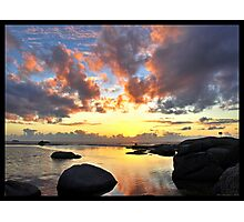 Cape Town Sunset Photographic Print