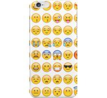 All Faces Emoji Collage iPhone Case/Skin