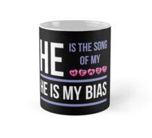 HE IS MY BIAS - BLACK Mug