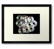 CD's Framed Print