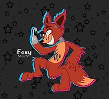 Cartoon Foxy (Five Nights At Freddy's) by GummyRaptor