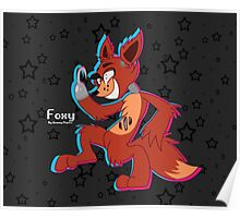 Cartoon Foxy (Five Nights At Freddy's) Poster