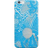 A Touch of Random in Light Blue iPhone Case/Skin