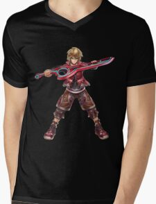 Shulk Mens V-Neck T-Shirt