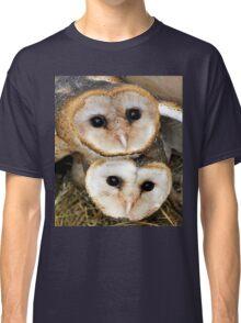 Cute baby barn owls  Classic T-Shirt