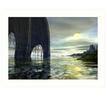 Bright Horizon Art Print