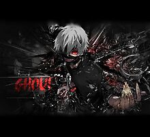 Tokyo ghoul - pillows, mugs, laptop skins ect... by Aemystik