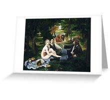 Pirate Luncheon in the Grass Greeting Card