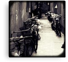 OLD SHANGHAI - Bike Lane Canvas Print