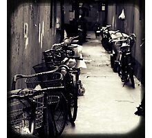 OLD SHANGHAI - Bike Lane Photographic Print