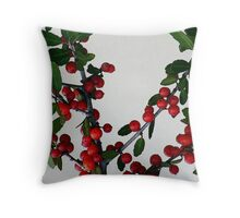 filtered yaupon Throw Pillow