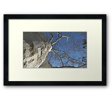 Blue Skies 019 Framed Print